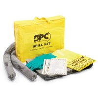 Economy Absorbent Spill Kits for Chemicals, Oils or Maintenance