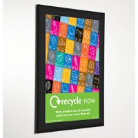 Aluminium And Acrylic Coloured Snap Frames