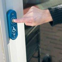 Disabled Access Doorbell Button & Wireless Receiver