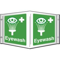 Eyewash Projecting 3D Signs