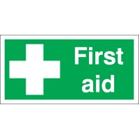 First Aid Photoluminescent Signs