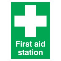 Essential First Aid Station Signs For Workplace Injuries