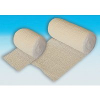 Crepe bandages for sprains and strains