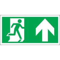 Running Man & Arrow Up Polycarbonate Signs