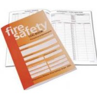 Comprehensive fire safety log book
