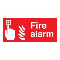 Fire Alarm Double-Sided Corridor Signs