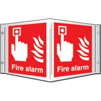Fire Alarm Projecting 3D Signs