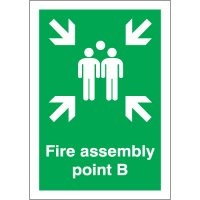 Fire Assembly Point B Signs