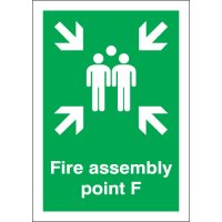 Fire Assembly Point F Signs