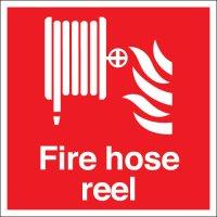 Fire Hose Reel Photoluminescent Signs