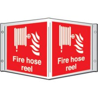 Fire Hose Reel Projecting 3D Signs