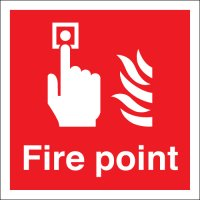 Fire Point Polycarbonate Signs