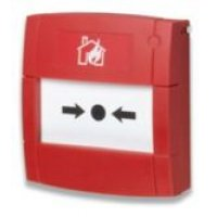 Manual Fire Alarm With Pressable Glass