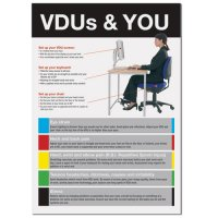 VDUs And You' Safety Information Poster in Various Durable Materials