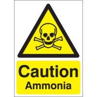 Caution Ammonia Signs