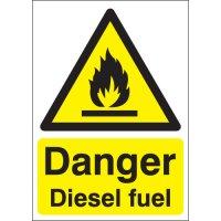 Essential Danger Diesel Fuel Workplace Signs