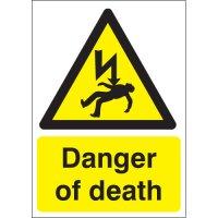 Vital danger of death warning signs