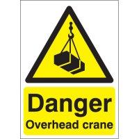 Danger Overhead Crane Signs