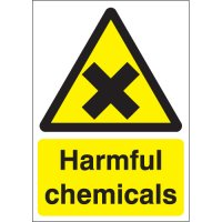 Compliant and versatile harmful chemical sign