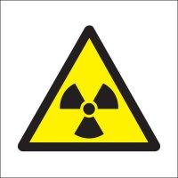 Simple Triangle Radiation Symbol Hazard Signs