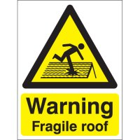 Essential Warning Fragile Roof Signs
