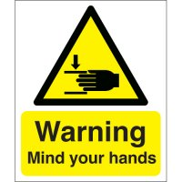 Warning Mind Your Hands Signs