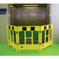 JSP 3-Gate Polypropylene Folding Work Barriers