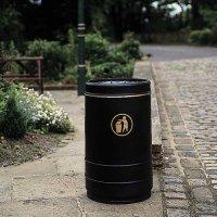 Pickwick Open-Topped Litter Bin