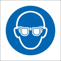 Eye Protection Symbol Signs