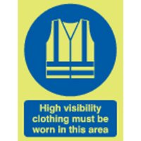 High Visibility Clothing... Photoluminescent Signs