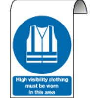 High Visibility Clothing... Scaffolding Signs