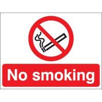 No Smoking Photoluminescent Signs