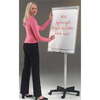 Lightweight Mobile Flipchart Easel For Office Meetings