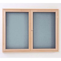Eco-Friendly Wooden Tamper-Resistant Lockable Notice Board