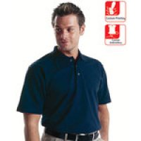 Customisable Short-Sleeved Dickies Polo Shirts with Collar and Trio of Buttons