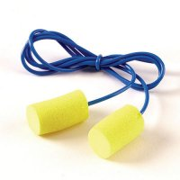EAR Classic polymer foam earplugs with vinyl cord