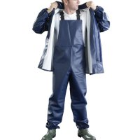 Food Industry Chemical Resistance Work Dungarees