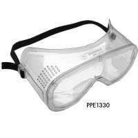Durable Impact-Resistant Safety Goggles