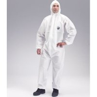 DuPont Proshield 10 Protective SMMS Coveralls with Hood