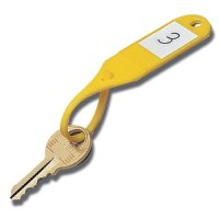 Reusable Moulded Plastic Key Tags