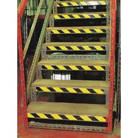 Durable overlaminated OSHA warning tape with pattern and colour options