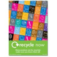 Recycle Now Safety Posters