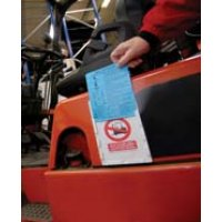 Forkliftag® Daily Inspection Kit and Replacement Cards