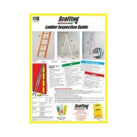 Informative Scafftag clear ladder guides