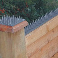 Durable, weatherproof PVC anti-climb strips
