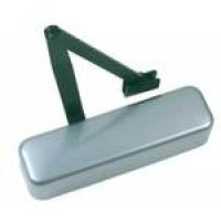 Silver Enamel DDA-Compliant Fire Door Closer