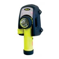 Wolf ATEX Rechargeable Halogen or LED Safety Torch