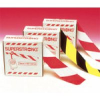 Superstrong scratch-resistant plastic barrier tape rolls