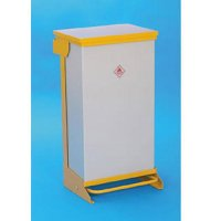 Fire-Retardant Galvanised Steel Frame Waste Sack Holders with Powder-Coated Finish