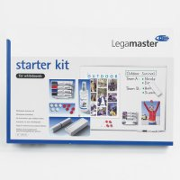 Whiteboard Starter Kit with Markers, Erasers, Magnets and More